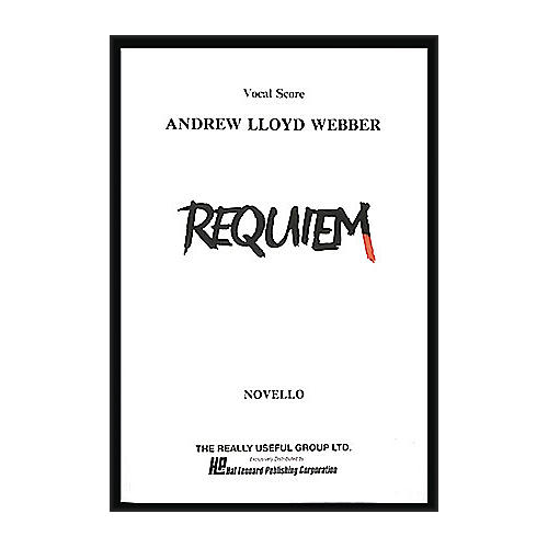 Hal Leonard Requiem Vocal Score