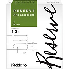 D'Addario Woodwinds Reserve Alto Saxophone Reeds 10 Pack Strength 3.0+