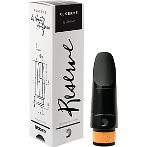 D'Addario Woodwinds Reserve Bb Clarinet Mouthpiece by DAddario Woodwinds