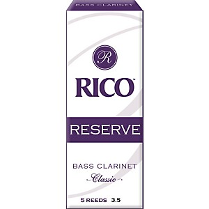 Rico Reserve Classic Bass Clarinet Reeds by Rico
