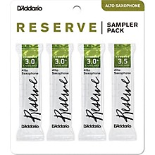 D'Addario Woodwinds Reserve Reed Sampler Packs, Alto Saxophone