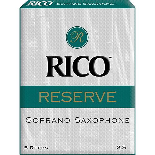 Rico Reserve Soprano Saxophone Reeds Strength 2.5