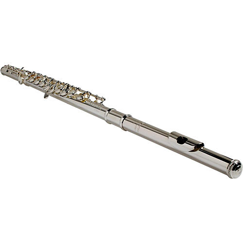 BURKART Resona 300 Flute with Sterling Silver Body and Headjoint with 9K Gold Lip Plate-thumbnail