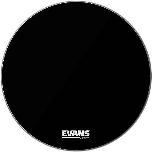 Evans Resonant Black Bass Drumhead  20 in.
