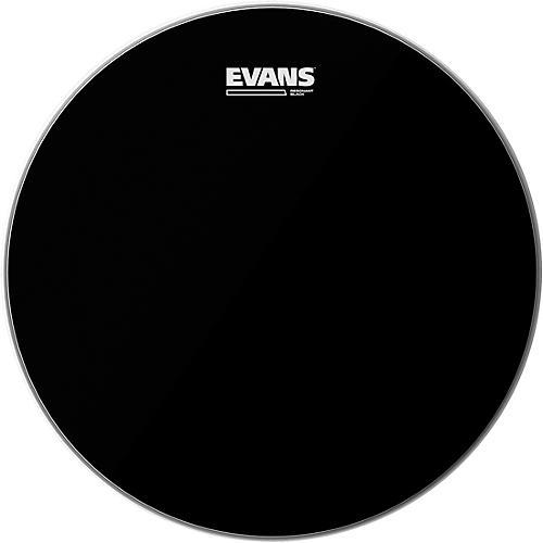 Evans Resonant Black Tom Drumhead-thumbnail