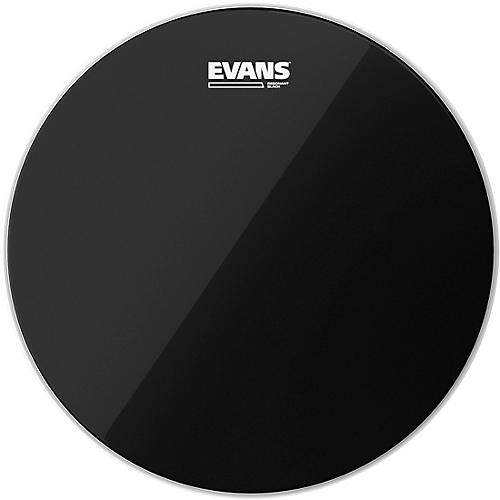 Evans Resonant Black Tom Drumhead-thumbnail