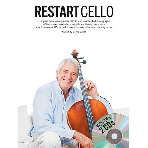 Music Sales Restart Cello (Book/2-CD Pack) Music Sales America Series Softcover with CD Written by Deryn Cullen