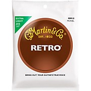 Martin Retro Acoustic Guitar Strings Extra Light Gauge