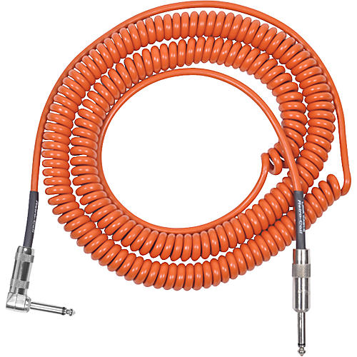 Lava Retro Coil 20 Foot Instrument Cable Straight to Right Angle-thumbnail
