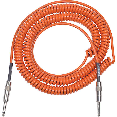 Lava Retro Coil 20-Foot Silent Instrument Cable Straight-Straight Assorted Colors-thumbnail