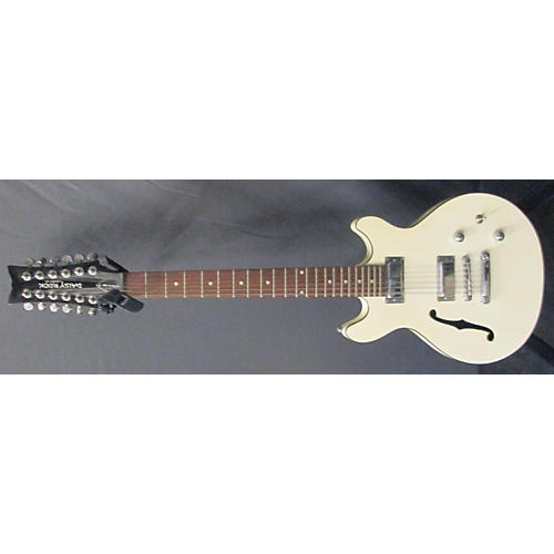 Daisy Rock Retro H 12 String Hollow Body Electric Guitar-thumbnail