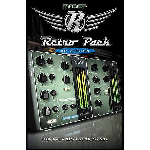 McDSP Retro Pack Software - HD Version