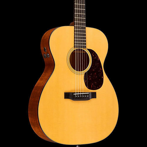 Martin Retro Series 000-18E Acoustic-Electric Guitar Natural