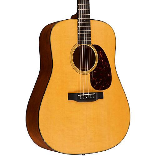 Martin Retro Series D-18E Dreadnought Acoustic-Electric Guitar