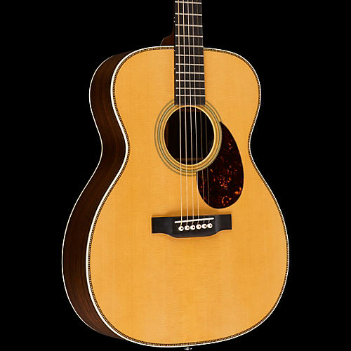 Martin Retro Series OM-28E Orchestra Model Acoustic-Electric Guitar Natural