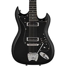Retroscape Series H-II Electric Guitar Gloss Black