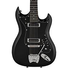 Retroscape Series H-II Electric Guitar Gloss Black