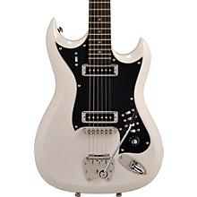 Retroscape Series H-II Electric Guitar Gloss White