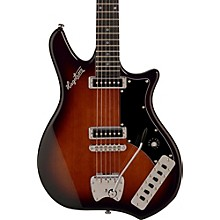 Retroscape Series Impala Electric Guitar Brown Sunburst