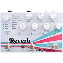 Empress Effects Reverb Effects Pedal