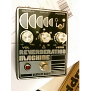 Death By Audio Reverberation Machine Effect Pedal