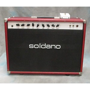 Pre-owned Soldano Reverbosonic Ros-50 Tube Guitar Combo Amp by Soldano