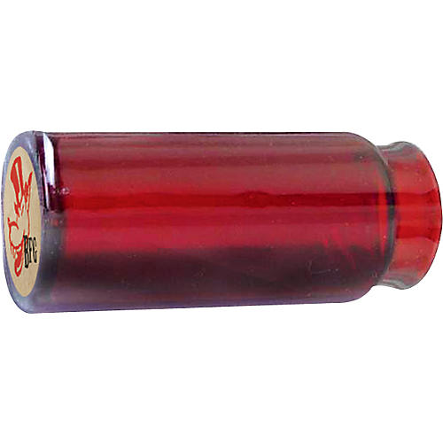 Dunlop Reverend Willy's Blues Bottle Mo-Jo Guitar Slide - Red Glass-thumbnail