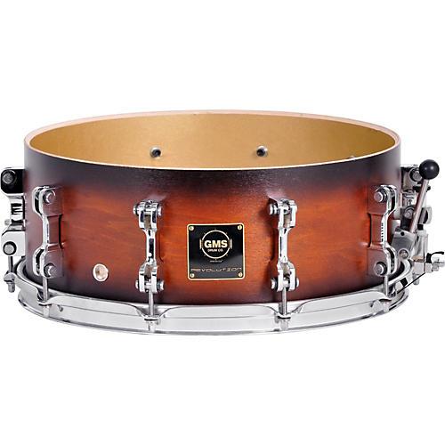 GMS Revolution Maple/Brass Snare Drum-thumbnail