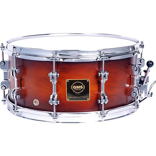 GMS Revolution Maple/Steel Snare Drum-thumbnail