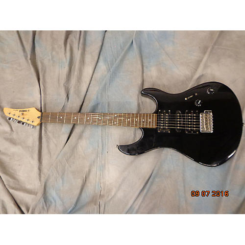 Yamaha Rgs 121 Solid Body Electric Guitar Black