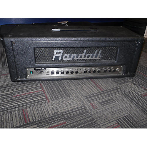 Randall Rh200 Solid State Guitar Amp Head