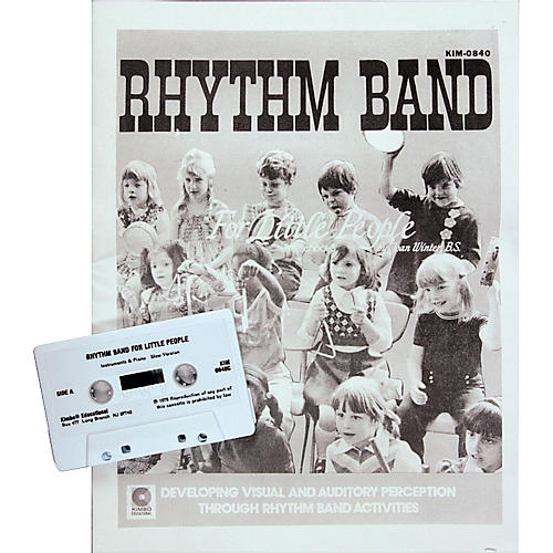 Kimbo Rhythm Band for Little People Cassette