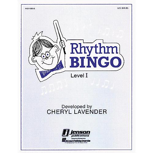 Hal Leonard Rhythm Bingo Level 1 (Game)-thumbnail