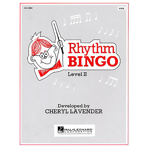 Hal Leonard Rhythm Bingo Level 2-thumbnail