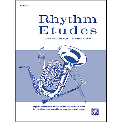 Alfred Rhythm Etudes B-Flat Clarinet-thumbnail