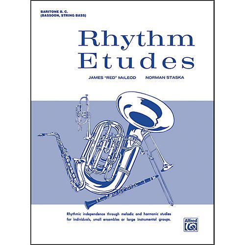 Alfred Rhythm Etudes Baritone B.C. (Bassoon String Bass)-thumbnail