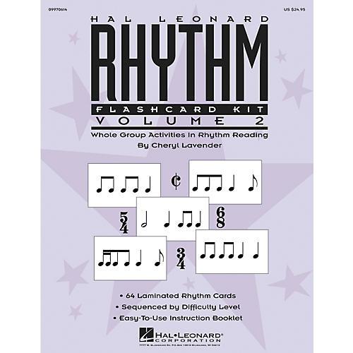 Hal Leonard Rhythm Flashcard Kit Vol. 2-thumbnail