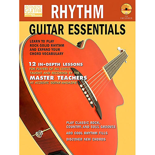 Hal Leonard Rhythm Guitar Essentials (Book/CD)-thumbnail