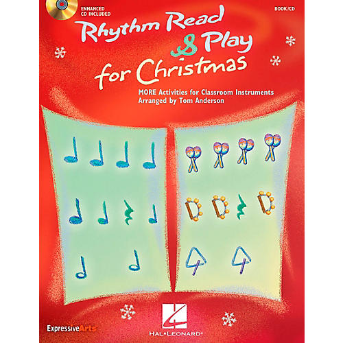 Hal Leonard Rhythm Read And Play For Christmas - MORE Activities for Classroom Instruments Book/CD-thumbnail