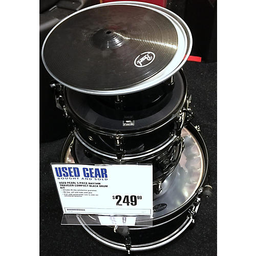 Pearl Rhythm Traveler Compact Drum Kit-thumbnail