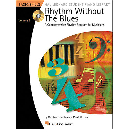 Hal Leonard Rhythm Without The Blues - A Comprehensive Rhythm Program For Musicians Book/CD Volume 2 Hal Leonard Student Piano Library-thumbnail