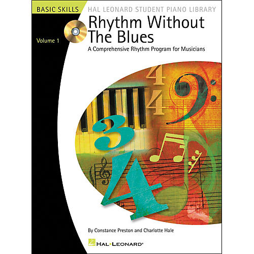 Hal Leonard Rhythm Without The Blues Book/CD Volume 1 Hal Leonard Student Piano Library-thumbnail