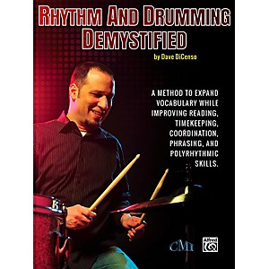 Alfred Rhythm and Drumming Demystified Book by Alfred