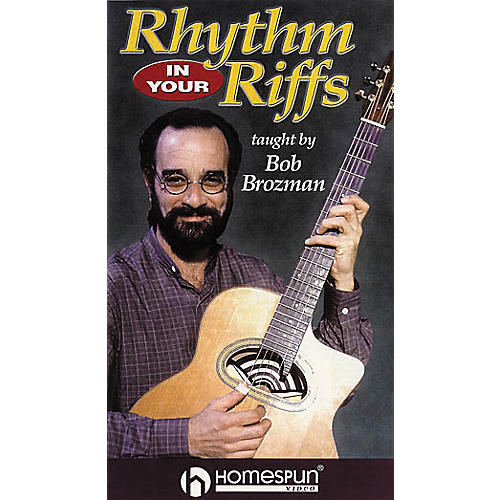 Homespun Rhythm in Your Riffs - Strums, Patterns and Grooves for Acoustic Guitar (VHS)