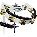 RhythmTech Drum Set Tambourine with Brass Jingles (DST 21)