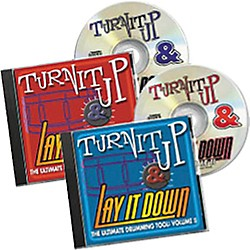 RhythmTech Turn It Up and Lay It Down Vols. 1 and 2 (CD) (RT MFP2)