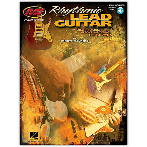 Hal Leonard Rhythmic Lead Guitar (Book/Online Audio)-thumbnail