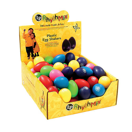 LP Rhythmix Plastic Egg Shakers (48 Pack)-thumbnail