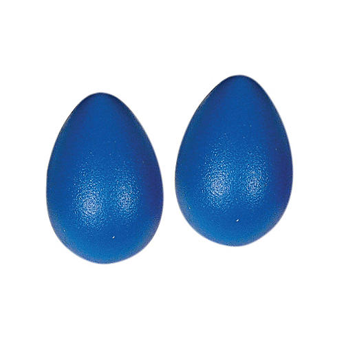 LP Rhythmix Plastic Egg Shakers (Pair) Blueberry-thumbnail