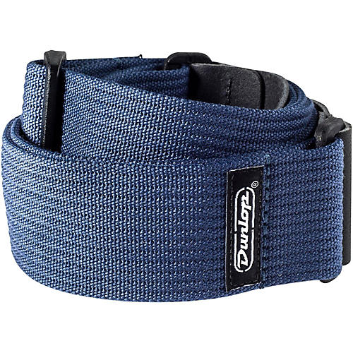 Dunlop Ribbed Cotton Guitar Strap-thumbnail